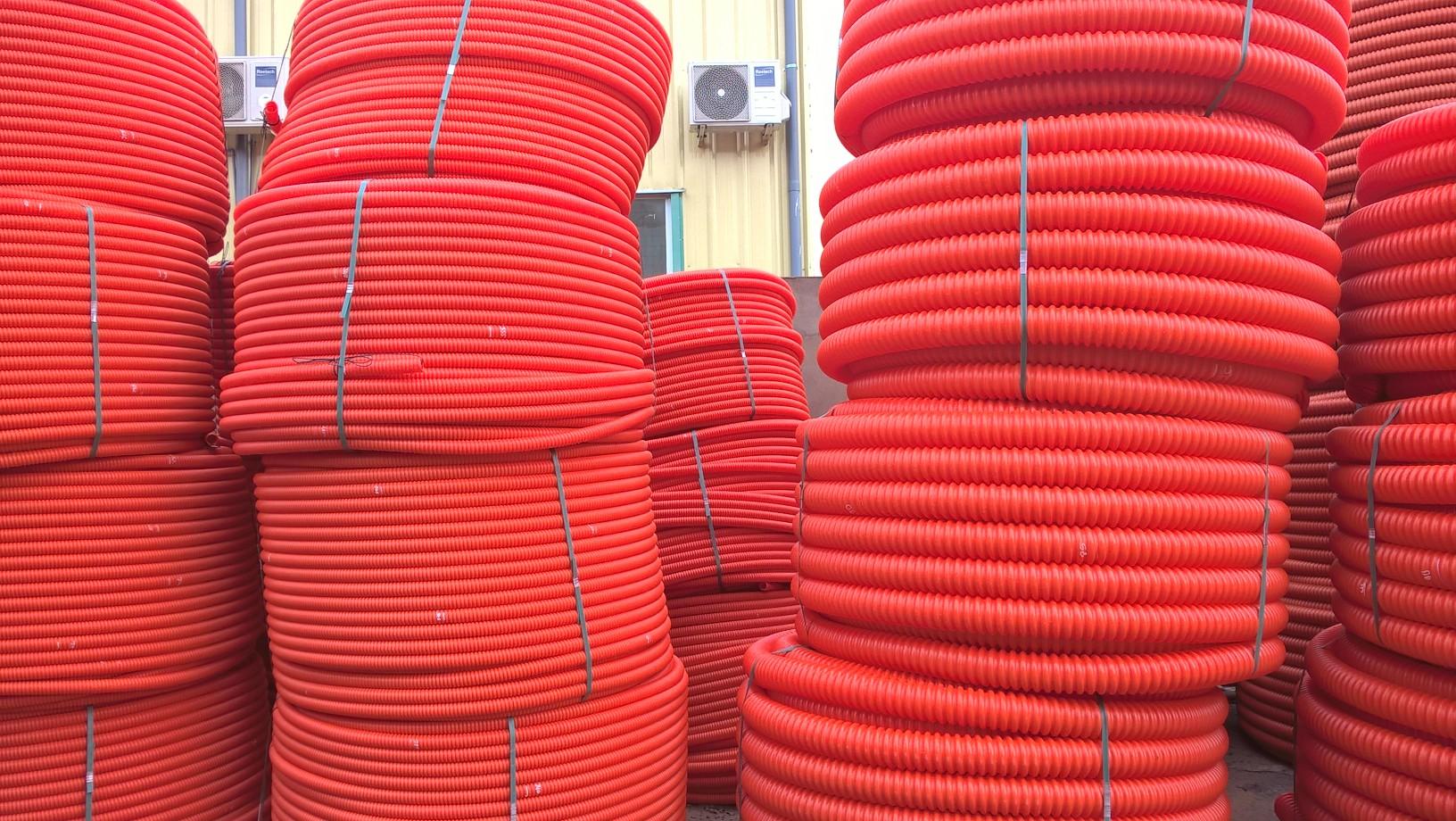 Ống nhựa xoắn luồn dây điện tây ninh